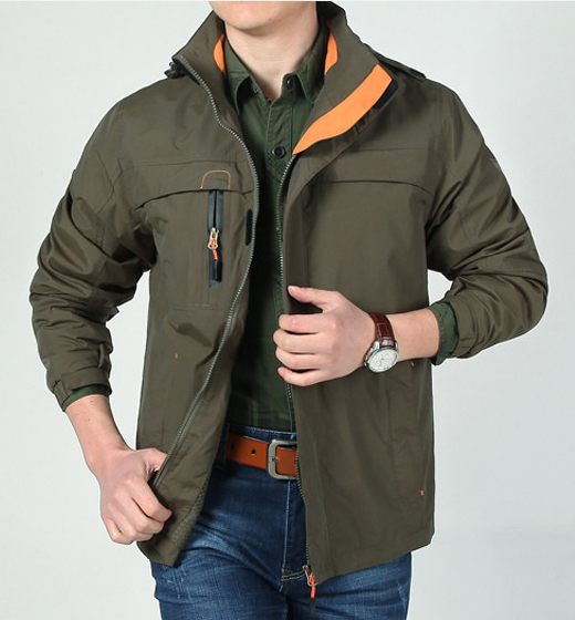 Outdoor Camping Hiking Men Jacket Army Outerwear Outdoor Military Hunting Clothing Waterproof Jacket Men Coat with Hood outdoor camping hiking survival water filtration purifier drinking pip straw army green