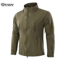 2019 Outdoor Waterproof SoftShell Jacket Hunting Windbreaker