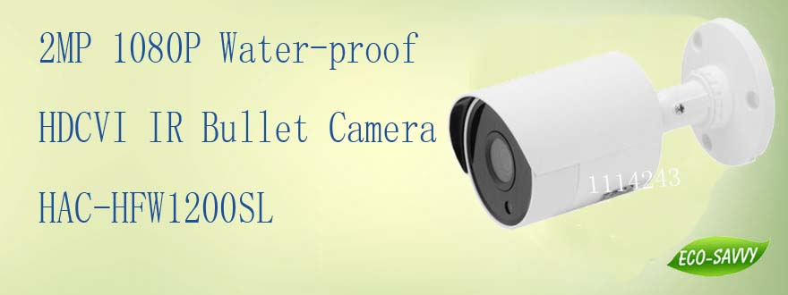 Free Shipping DAHUA Outdoor Camera 2Mp 1080P FULL HD Water-proof HDCVI IR Bullet Camera  ...