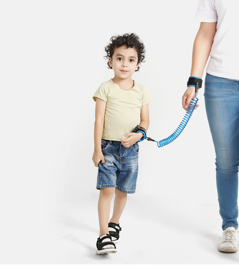 Baby Child Anti Lost Safety Wrist Link Harness Strap Rope Leash Walking HandBelt
