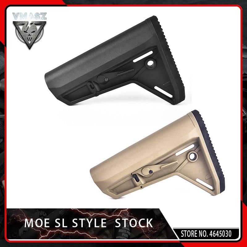 Vyou MOE Stock SL-K Style для Airsoft AEG M4A1 Gel Blaster коробка передач Gen8 Jinming9 JIQU Carbine AR15/M4 принадлежности для пейнтбола