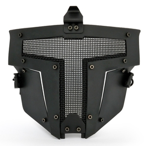 Image 4 - Tactical Airsoft Mask Protective Male Men Airsoft War Game Full Face Guard Mesh Mask Protector Use with Fast Helmet Mask