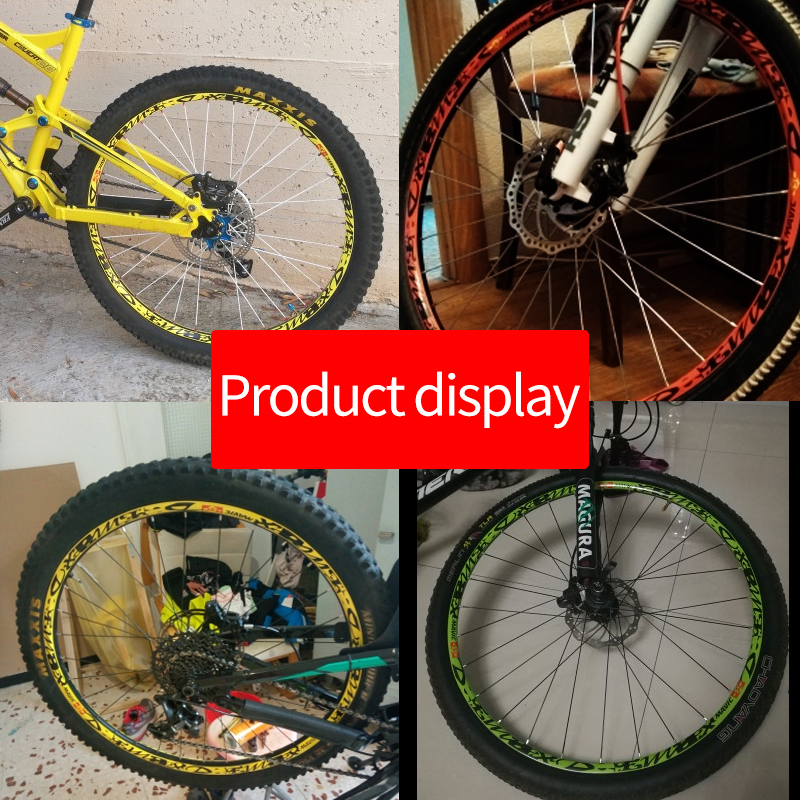 2018 DEEMAX DH DOWNHILL wheel decals Stickers for mtb bike bicycle Adesivi