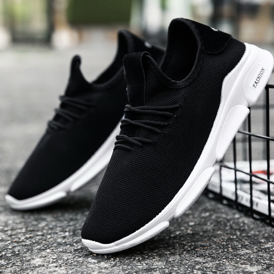 Sneakers Coréen Mode Modèle Simples Mesh Black De white Chaussures Couleur Confortable Contraste Des Casul Plus 2019 green Taille Homme La Hommes EqYA1dwxA