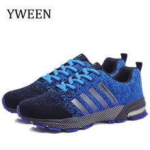 YWEEN Men Couple Casual Shoes Men Flats Outdoor Sneakers Mesh Breathable Walking Footwear Sport Trainers Men Sport Running Shoes