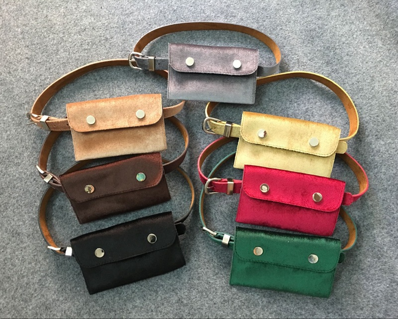 Fashion Purse Female Fine Belt Key Bag Belts for Women Phone Pouch Bags New Korean Style Lady Waist Pack