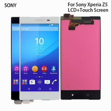 For Sony Xperia Z5 LCD Display Touch Screen Digitizer Assembly For Sony Xperia Z5 E6633 E6683 Display Screen LCD Phone Parts стоимость