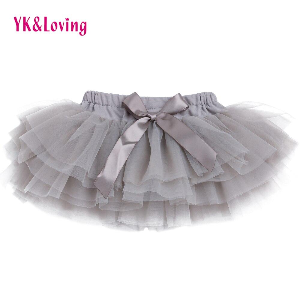 Baby Bloomer Blue/Gray Cotton Ruffle Skirt Pant   Shorts   Newborn Diaper Cover Toddler Pettiskirt 0-24 Months Kids Outfit