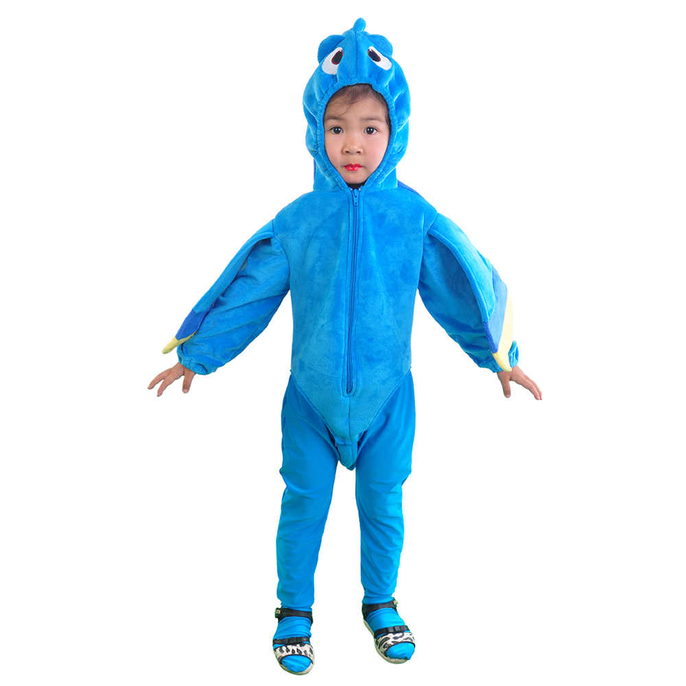Detail Feedback Questions About Kids Finding Dory Costume Blue Fish