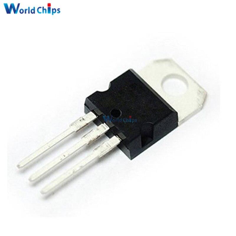 10PCS L7812CV TO-220 L7812 LM7812 7812 Positive-Voltage Regulators 12V
