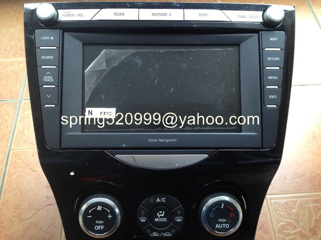 mazda ff60 66 dv0a voice navigation 6 disc cd changer for mazda rx 8 rh aliexpress com BMW Navigation RX-8 Automatic