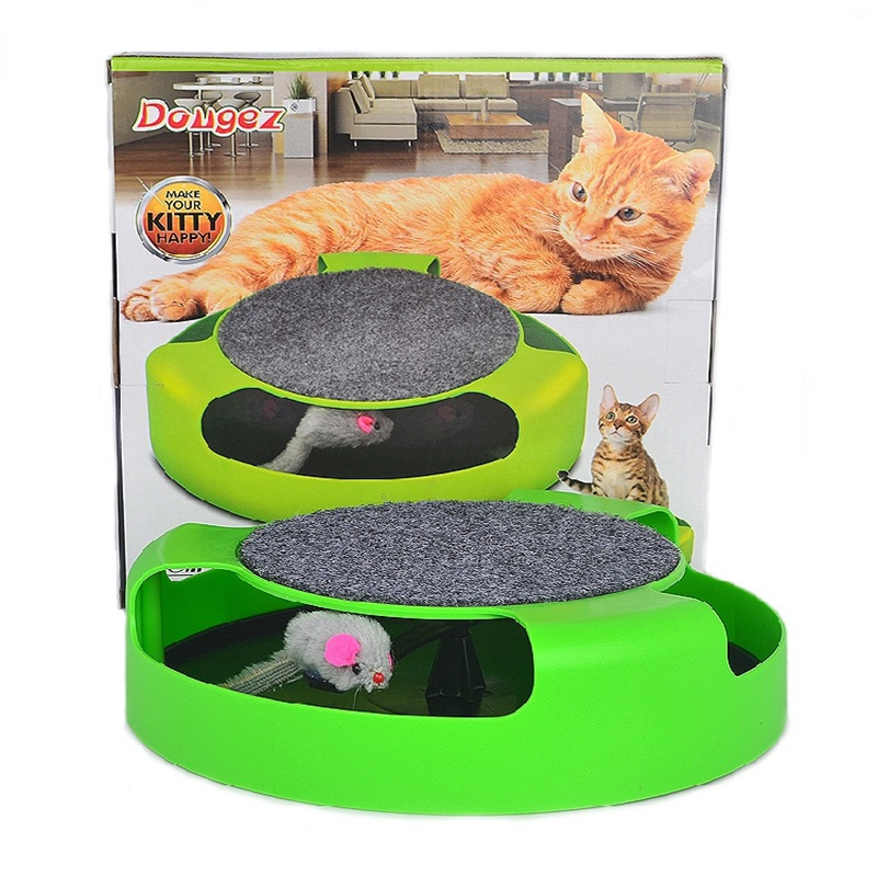 New Pet Cat Toy interactive Products Kitten Toys with Moving Mouse Inside Roped Funny Faux Mouse Play Toy gatos For pets