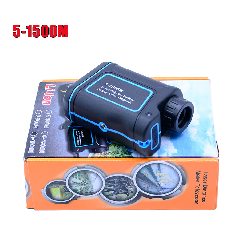 Multifunction 8X laser range finder telescope 600M 900M 1200M 1500M Monocular distance meter speed-height-angle finder
