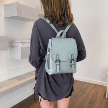 купить HIFAR Brand Backpack Women Backpacks Fashion Small School Bags for Girls high quality PU Leather Female Backpack Sac A Dos 2019 по цене 2336.91 рублей