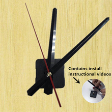 High-quality Silent Wall Clock Mechanism Quartz Movement pointer Mute Dedicated Long Thread Axis Length 28mm with hook