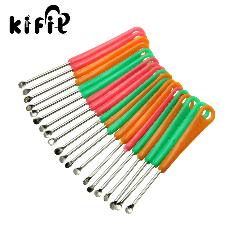 KIFIT Convenient 8pcs Ear Pick Cleaning Set Ear Wax Remover Cleaner Curette Kit For Health Care Tool 2