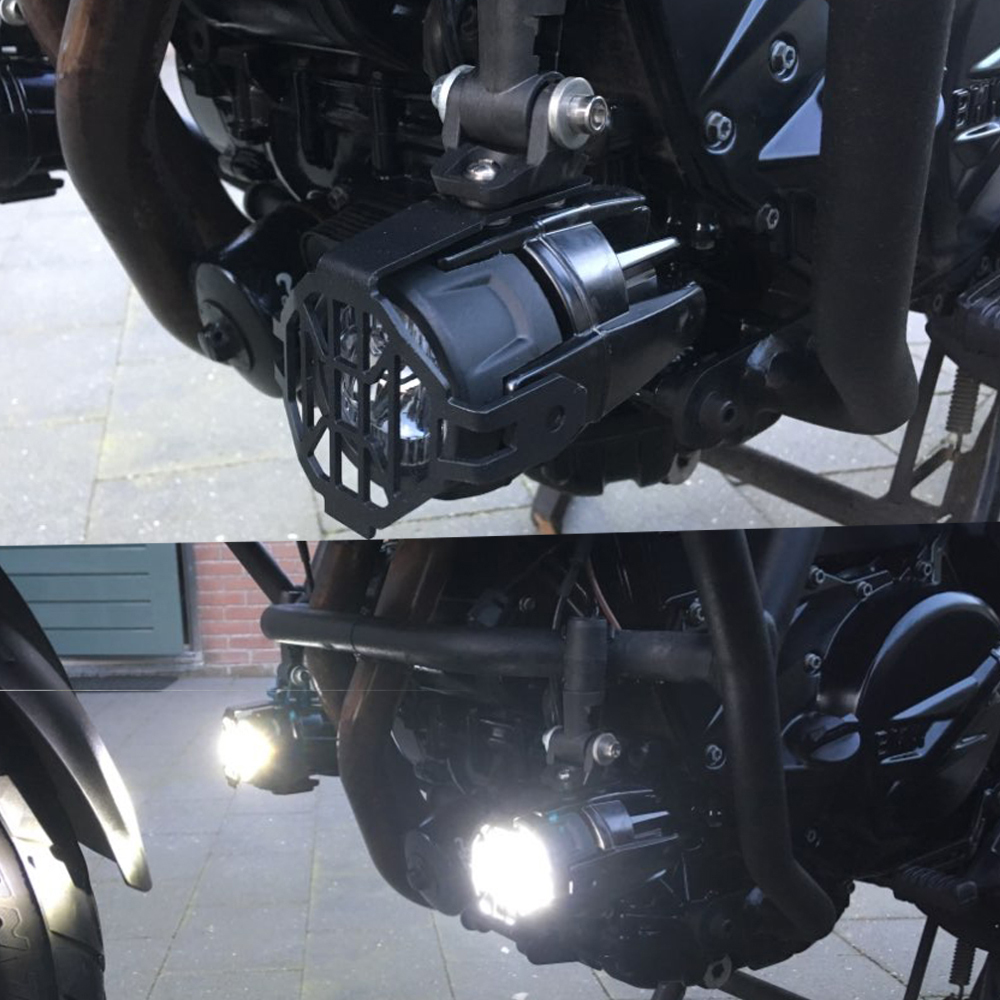 Feux de brouillard de moto LED antibrouillard auxiliaire assemblé lampe de conduite 40W pour BMW R1200GS ADV F800GS F700GS F650GS K1600 - 6