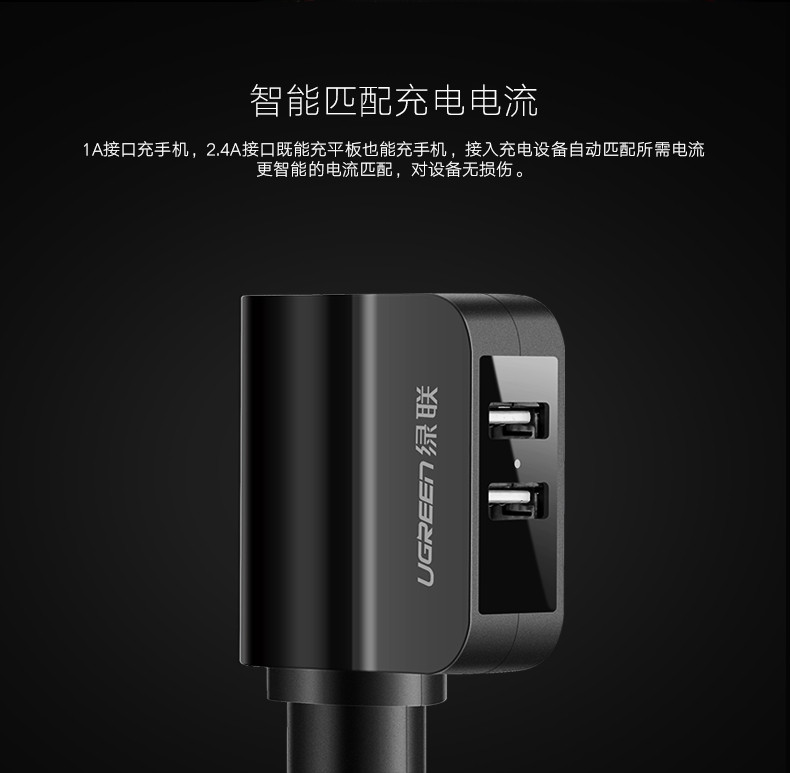 Ugreen fast charge Car phone Charger (3)