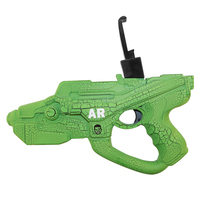 New AR Super Gun Toy Smart Pistol Bluetooth Game Handle Controllers W/ Phone 3D AR Electronic Games Gun Toy For Android IOS