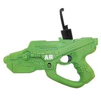 Nieuwe AR Super Gun Speelgoed Smart Pistol Bluetooth Spel Handvat Controllers W/Telefoon 3D AR Elektronische Spelletjes Pistool Speelgoed Voor Android IOS