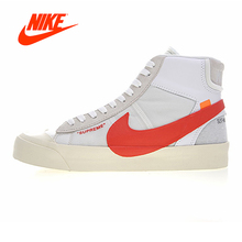 Original New Arrival Authentic NIKE BLAZER MID Men Skateboarding Shoes Sport Outdoor Sneakers Good Quality