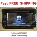 Free Shipping Car Radio Stereo USB AUX RCD510 With Code For VW Golf 5 6 Jetta MK5 MK6 Passat B6 CC B7 Polo