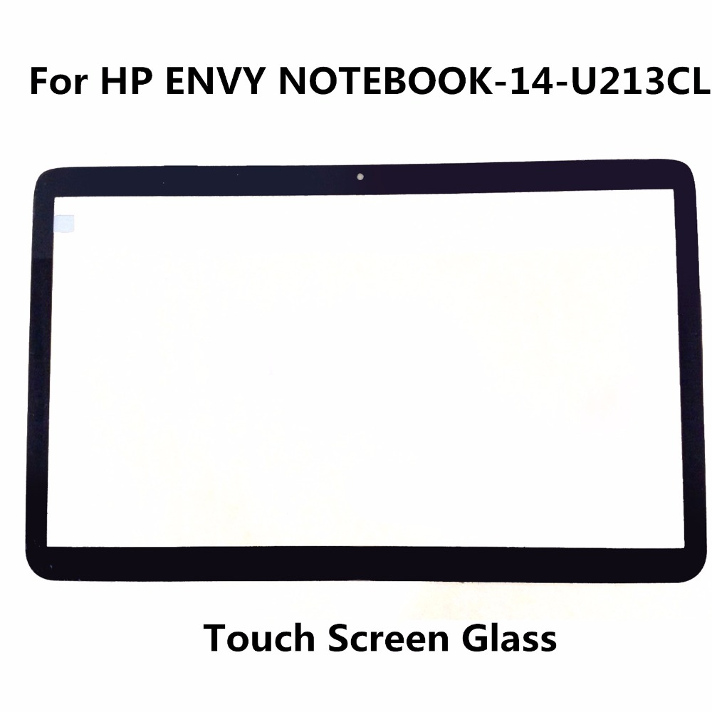 LCDOLED Original New 14 Laptop Touch Screen Glass Lens Panel Digitizer Replacement Repair Parts For HP ENVY NOTEBOOK-14-U213CL original new genuine 11 6 inch tablet touch screen glass lens digitizer panel for hp x360 310 g1 replacement repairing parts