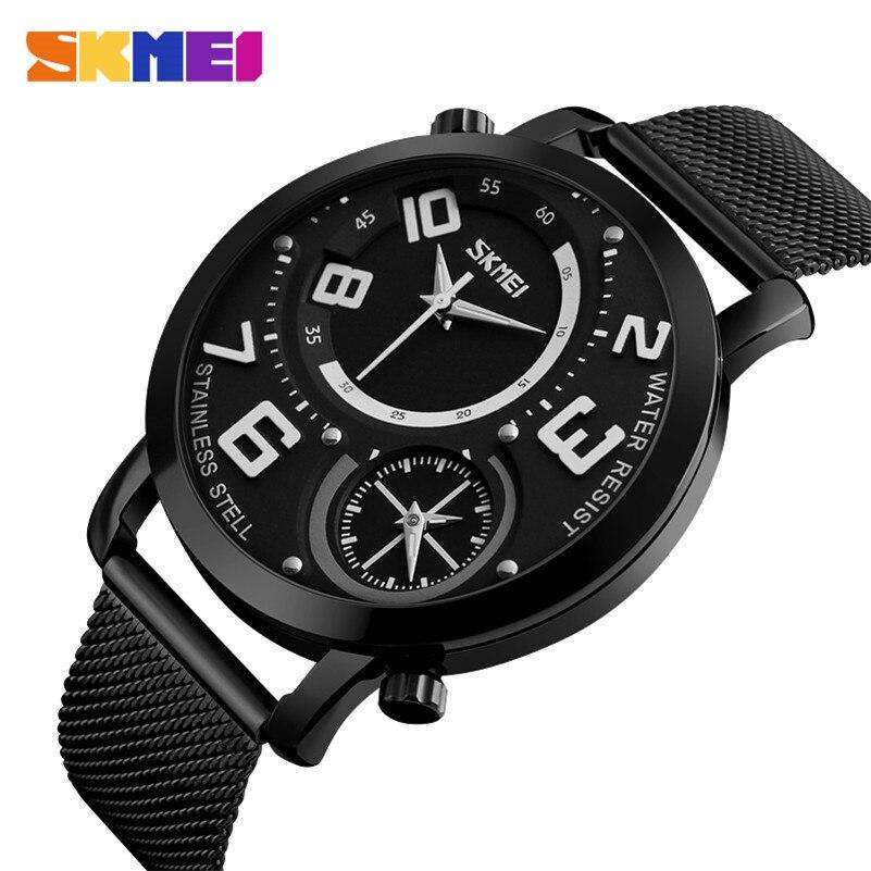 Biznes Wrist Watch Mężczyźni Zegarki SKMEI Top Luksusowa Marka - Męskie zegarki - Zdjęcie 2