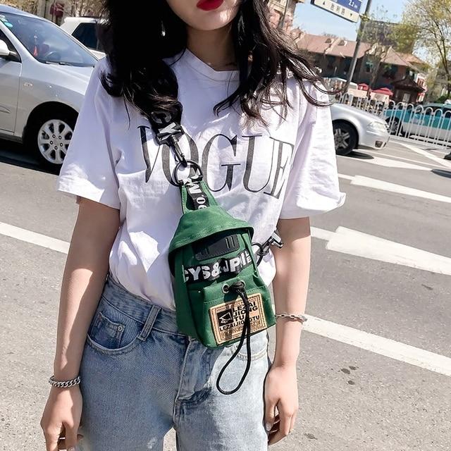 Free shipping, 2018 new women handbags, fashion woman chest bag, trend Korean version shoulder bag, casual simple messenger bag.