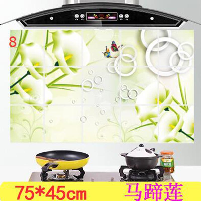 HTB19rXAOXXXXXbAapXXq6xXFXXXF - kitchen Anti-smoke Decorative wall sticker Resistant to high aluminum foil tiles cabinet