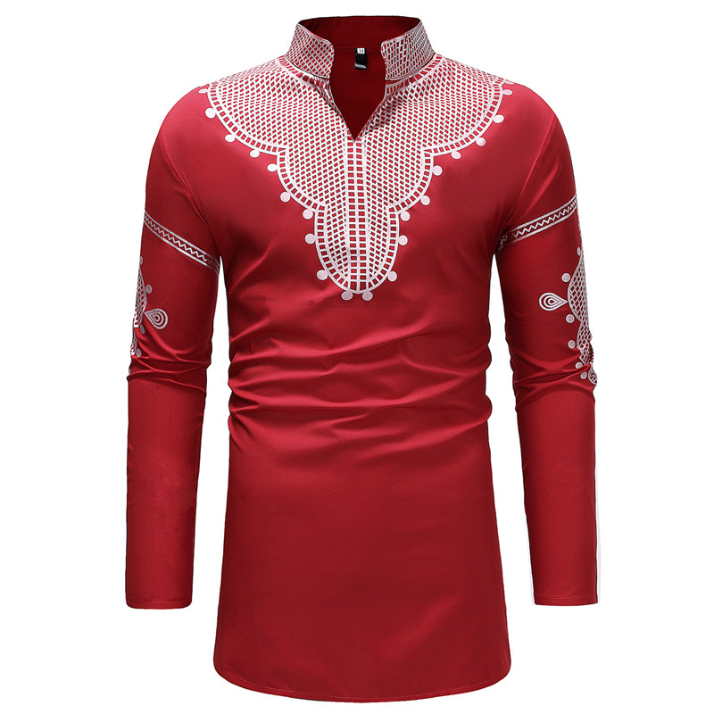 African Style Mens   Polo   Shirts Long Sleeve Summer Poloshirt Male Shirts Clothes Plus Size 3XL   Polo   Shirt For Men Streetwear B350
