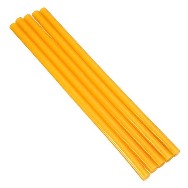 5Pcs/Lot 11x270mm Yellow Hot Melt Glue Sticks For 11mm Electric Glue Gun...