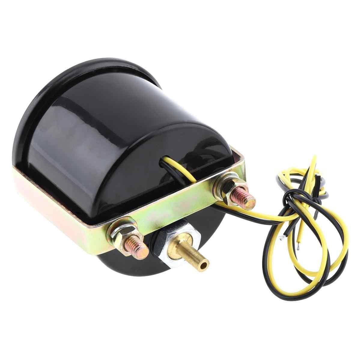 """6031BL 2 """"52mm 12V LED Xanh Dương-1 ~ 2 Thanh Xe Ô Tô Turbo Boost Đo Đồng Hồ với cảm biến cho Xe Hơi/Ô Tàu/Xe Tải/ATV"""