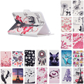 For Apple ipad Air 2 II 9.7'' Dandelion print  PU Leather Case Smart Cover For ipad 6 Stand Cover with Holder #