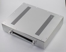 WA39 Aluminum enclosure Preamp chassis Power amplifier case/box size 343*430*92mm