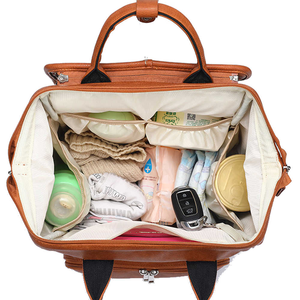 Новинка; модная обувь унисекс; качества из искусственной кожи, для детей, сумка для подгузников рюкзак + пеленальный коврик + коляски для прогулочной коляски