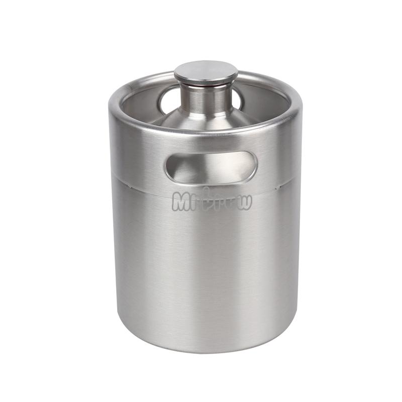 Stainless Steel Beer Mini Keg Set 8