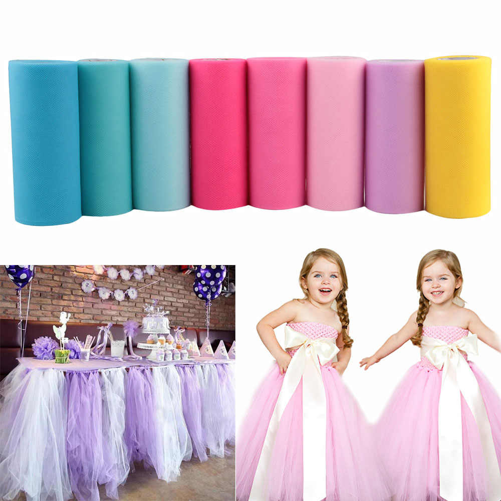ผ้า Tulle Roll Baby Shower 15
