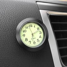 Автомобиль часы с орнаментом мода время авто часы Автомобили Интерьер приборной панели украшения Stick-On часы отделка Аксессуары вставить подарок