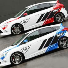 Поступление, большие размеры, автомобильные наклейки на весь Кузов для Ford Focus, Универсальная автомобильная классная модификация, наклейка для стайлинга автомобиля