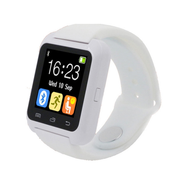 Smart u80 watch bt-notificação de alarme anti-perdido do bluetooth relógio de pulso para iphone 4/4s/5/5s samsung s4/note 2/note 3 mtk telefone android