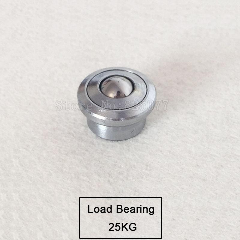 10PCS Mini universal ball bearing cattle eye ball belt cattle eyeball ball Load Bearing 25KG JF1503