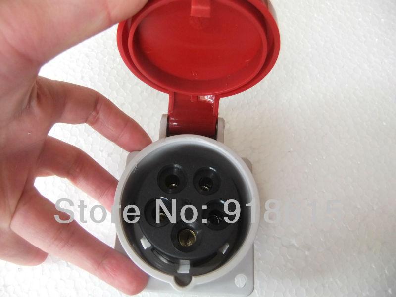 Diesel Generator Parts Plug Seat Socket  Three Phase 16a