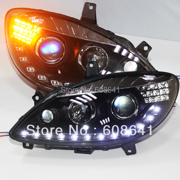 Ar gyfer Lamp Pen LED Mercedes-Benz Viano 2006-2011