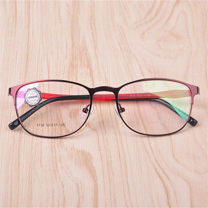 2016 new factory direct alloy frames men and women retro glasses frame prescription glasses frame