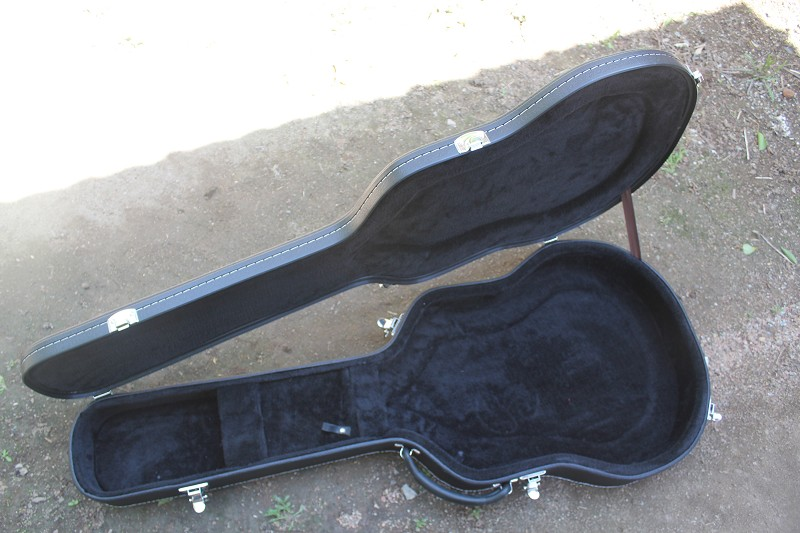 цена на Not Sold Separately ***  High Quality Black Guitar Hard Case for Jazz Electric Guiatr Free Shipping