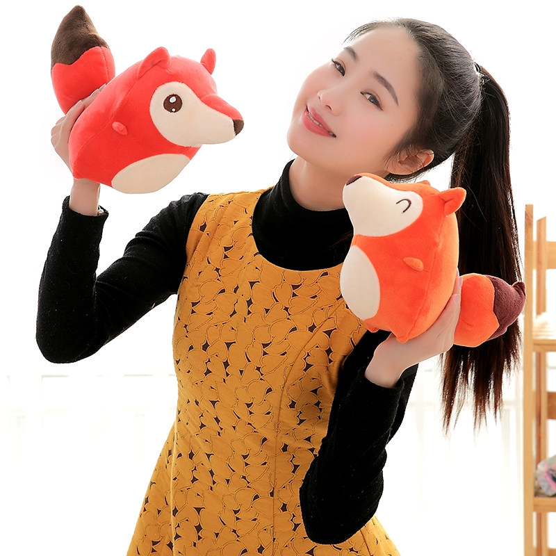 20/30/40cm Kawaii Dolls Stuffed Animals & Plush Toys for Girls Children Boys Toys Plush Pillow Fox Stuffed Animals Soft Toy Doll