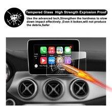 RUIYA screen protector for Mercedes benz GLA-CLASS(X156) CLA-CLASS (W117)Map Pilot 7inch car navigation screen,9H tempered glass