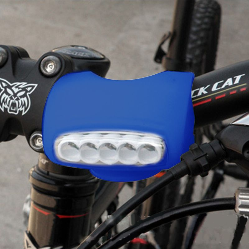 LED Bicycle Frog Lights Colloidal Riding Equipment Before And After High-lighting Outdoor Riding Sports Bullfrog Lights Qiang