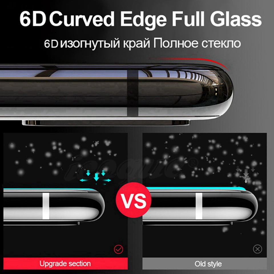 6D Glass for Huawei Honor 10 Lite 9 8X 8C View 20 Nova 3 3i 4 Screen Protector 5D Tempered Glass for Huawei P20 Pro Mate 20 Lite (10)